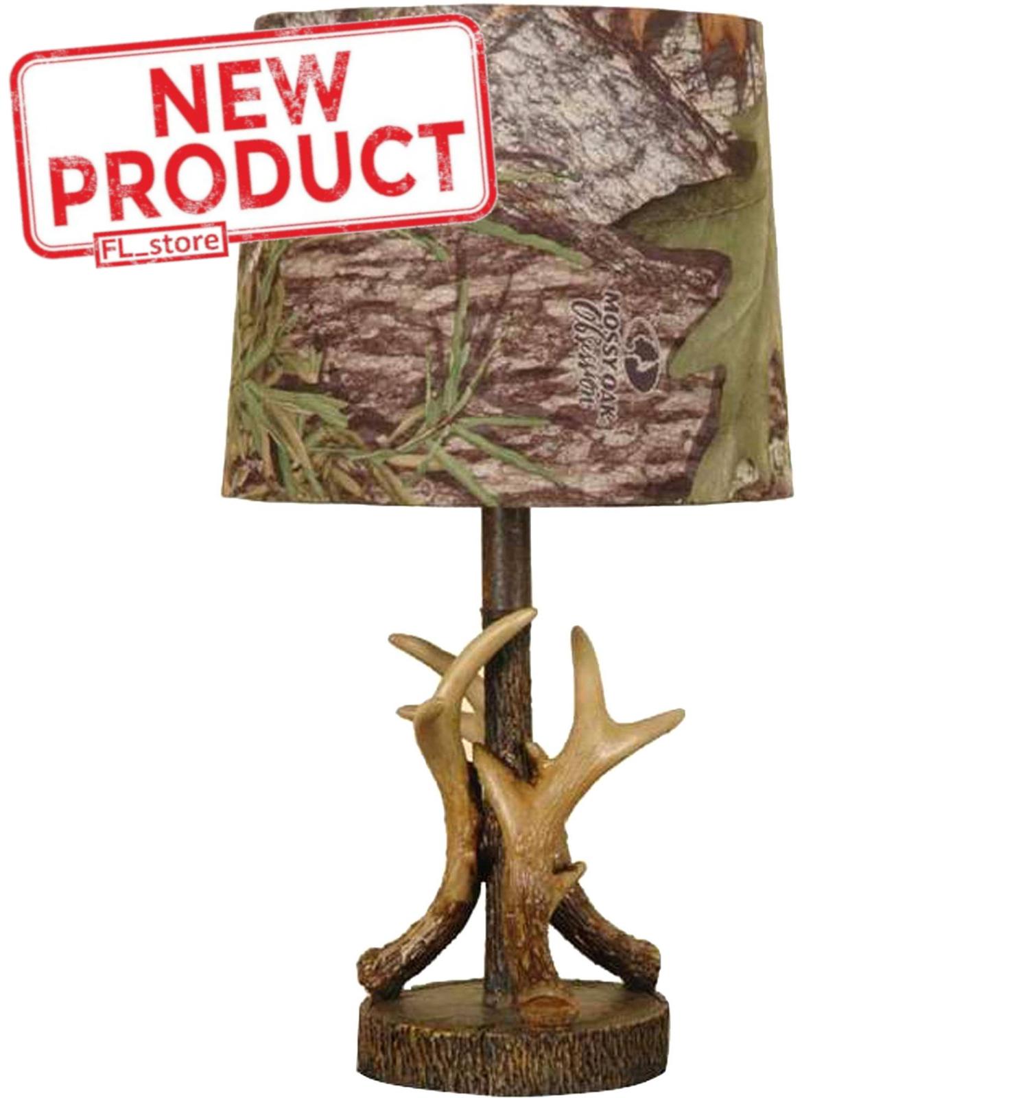 Mossy Oak Deer Antler Accent Lamp For Sale Online Ebay