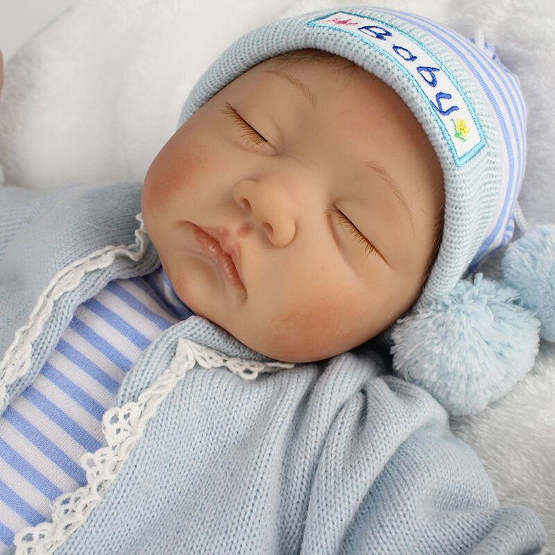 22''Realistic vinile Baby Doll Ragazzi Reborn Realizzato neonato Lifelike gift i