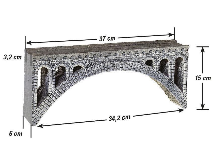 in vendita Noch 58671 Rhône-viadukt per per per Ferrovie Sautotamento Ridotto H0e H0m  l'intera rete più bassa