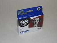 Genuine Epson T0981 black ink 98 T098 Artisan 700 710 725 730 800 810 835 837