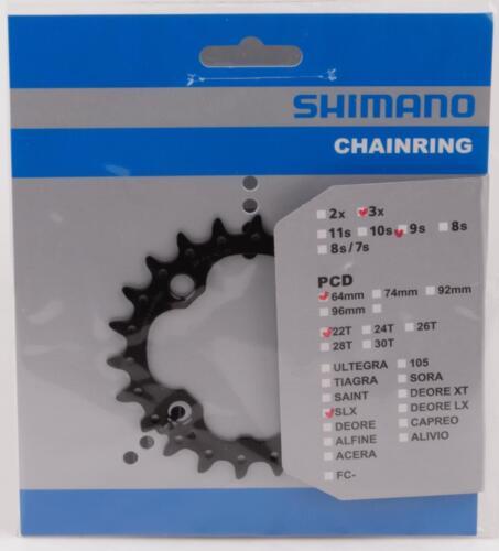 Shimano SLX catene foglio 22, ad 9 volte per fc-m660