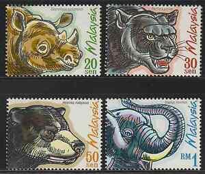 234-MALAYSIA-1999-PROTECTED-MAMMALS-SET-FRESH-MNH