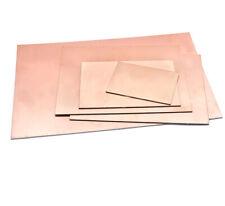 Fr4 Two Double Side Pcb Copper Clad Laminate Board 7x10cm 20x30cm