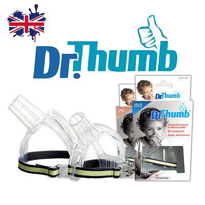 TWO (2) X DR THUMB THUMB-GUARD STOP THUMB-SUCKING AID TREATMENT KIT BABY CHILD