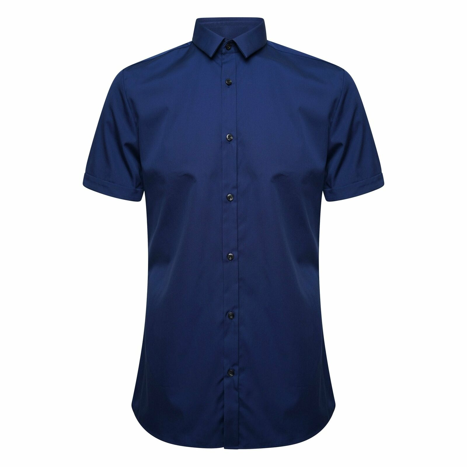 Hugo Boss Empson Extra  Slim Fit Camisa Azul Marino  alta calidad