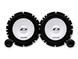 Alpine-Lautsprecher-SXE1750S-560W-Kompo-fuer-Hyundai-i20-ab-2015