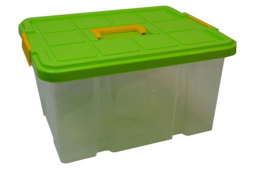 Stapelbox Drehstapelbox mit//ohne Deckel//Rolle Transportbox Lagerbox Lager Unibox