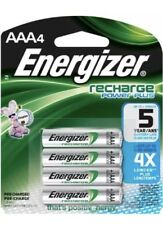 4 x Energizer NH12BP-4 AAA 700mAh Rechargeable Batteries