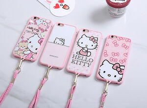 Cute-Hello-Kitty-Soft-Pink-TPU-Back-Case-Cover-for-iPhone-6-6s-plus-5-5s-SE
