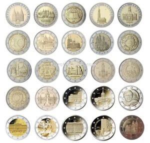 #RM# 2 EURO COMMEMORATIVE GERMANY (2006-2021) -  ALL PIECES - PLEASE CHOOSE
