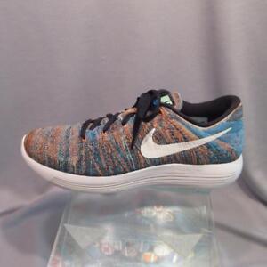 9f55c9ab45fe Nike LunarEpic Low Flyknit Blue Glow Men s Running Shoe 843764 003 ...