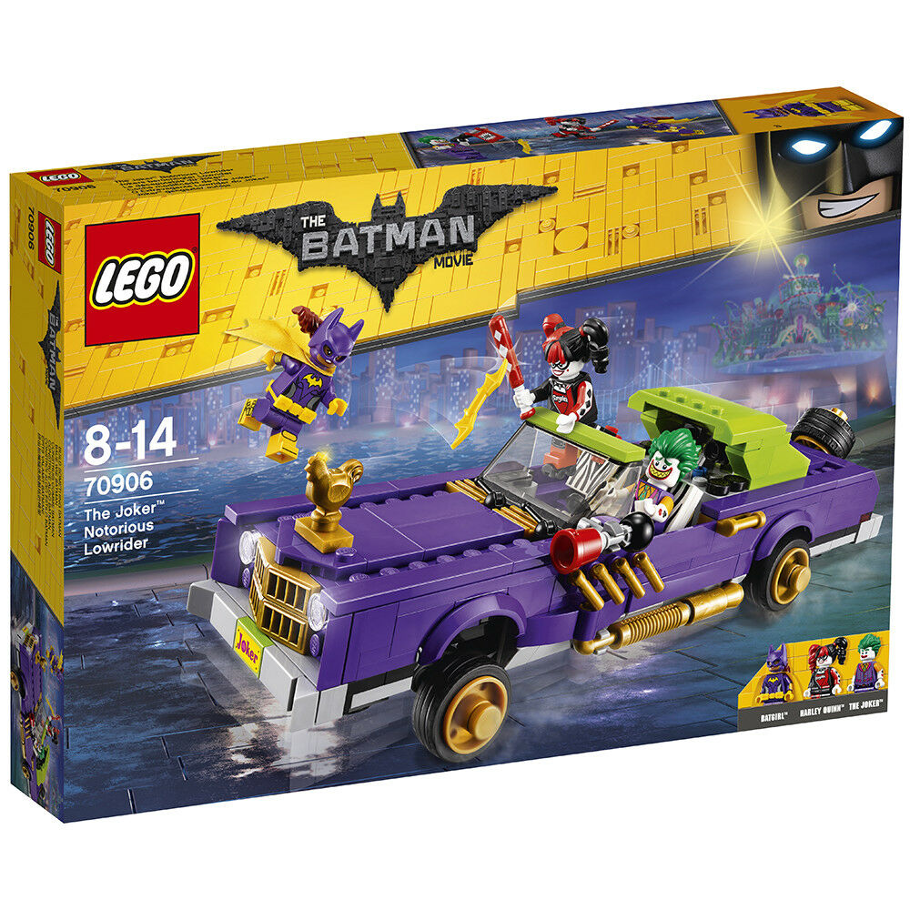LEGO Batman Movie 70906: The Joker Notorious Niedrigrider - - - Brand New c2529a