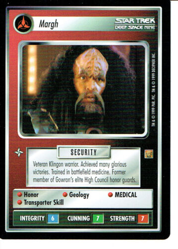 STAR TREK CCG RULES OF ACQUISITION RARE CARD MARGH