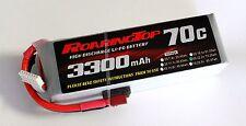 RoaringTop LiPo Battery Pack 70C 3300mAh 6S 22.2V with Deans Plug