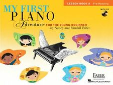 My First Piano Adventure Lesson Learn to Play BEGINNER TUTOR MUSIC BOOK A & CD