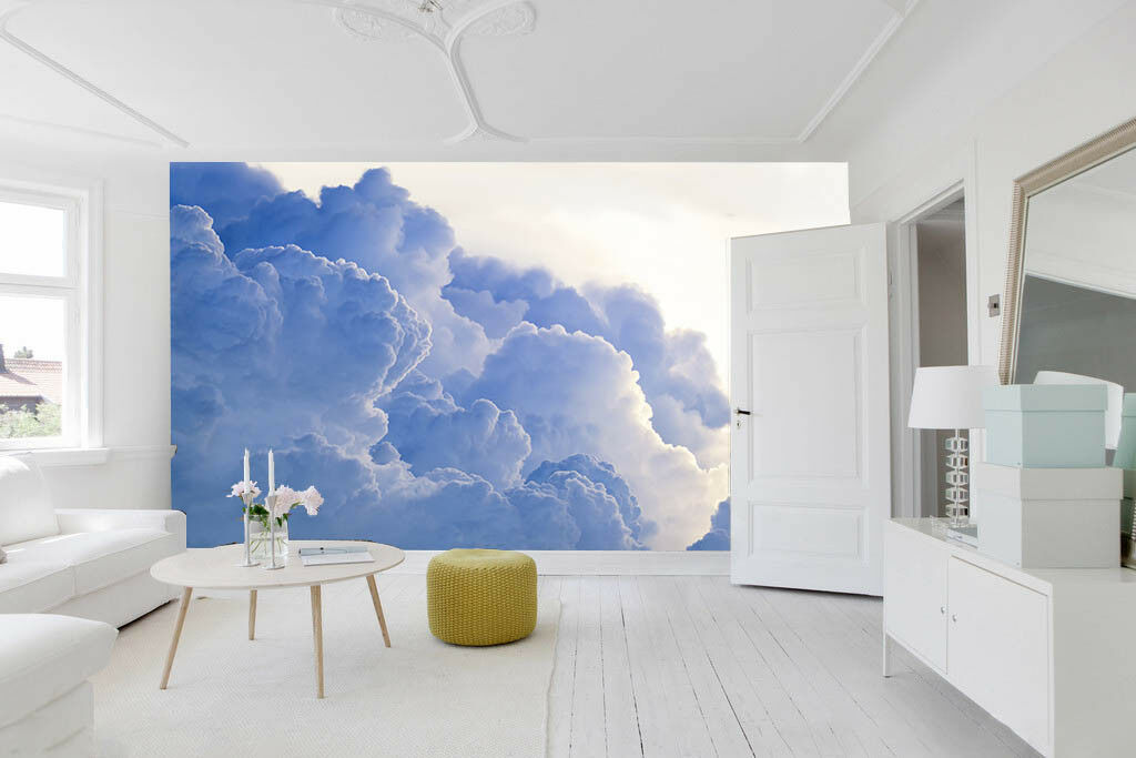 3D Fashion Clouds 45 Wall Paper Wall Print Decal Wall Deco Indoor Wall Murals