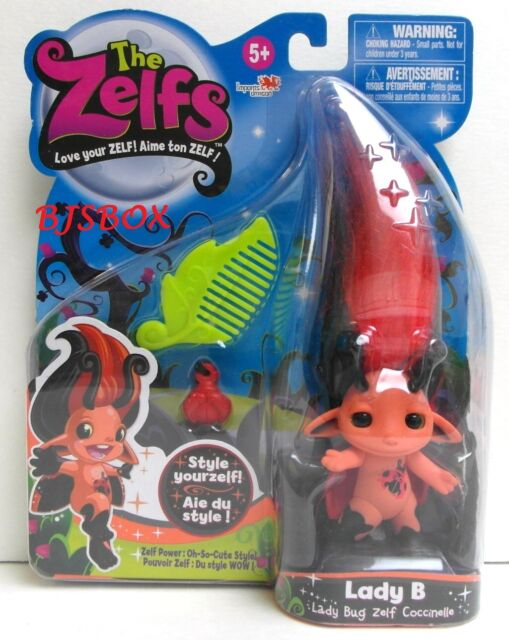 The Zelfs LADY B Series #2 Troll Doll with Comb and Charm New Sealed NISP