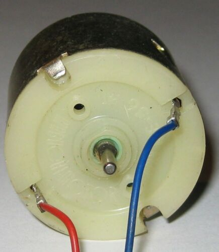 Mabuchi RE-56 Motor Toy Motor with Wires Terminals Hobby R//C 4.5 VDC