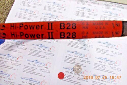 Gates B28 Hi-Power V-Belt II V80