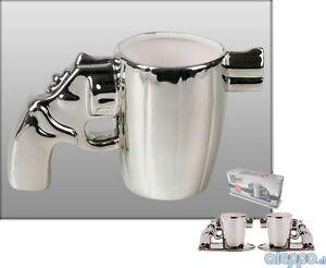 FUN-Gun-Revolver-Espresso-Kaffee-Tasse-Pistole-Kaffeebecher-Kaffeetasse-Becher