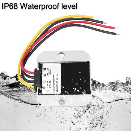 50W DC12//24V to 5V 10A Step-Down Converter Buck Spannungsregler Modul Waterproof