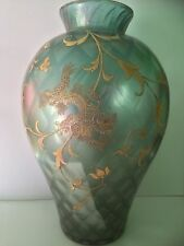 RARE Antique Harrach air trap Bohemian Secessionist glass Moser Art nouveau
