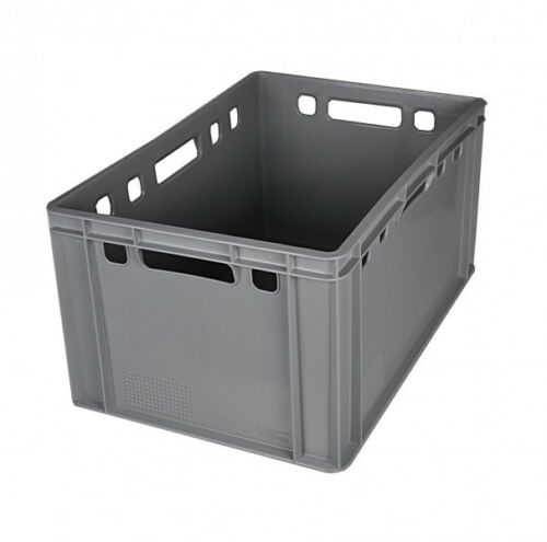 Stacking Grey Stacking Crate stackable crates Storage Boxes transport vegetable crates