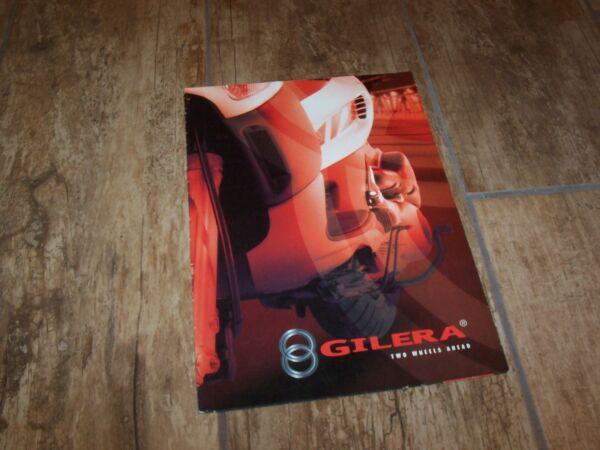 Actief Catalogue / Brochure Gilera Gamme / Full Line 2004 // Producten Worden Zonder Beperkingen Verkocht