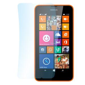 9x Super Clear Screen Protector Nokia Lumia 630 Transparent Display