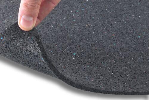 Bautenschutzmatte 10mm Gummigranulatmatte Antivibrationsmatte Gummi Gummimatte