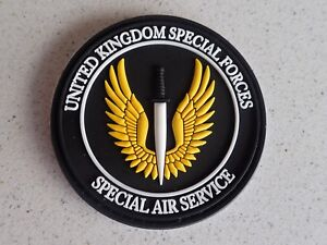 British-Army-SAS-Special-Air-Service-UKSF-Special-Forces-PVC-Hook-Loop-Patch
