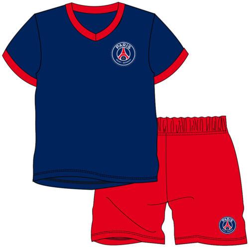 Kids Football Strip Pyjamas Girls Boys Childrens Pyjama Set Age 1-12 Years