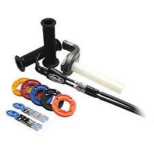 Motion Pro Rev2 Throttle Assembly/Kit for Aprilia 0632-0768 Black Aluminum