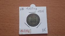 GB 1 SCHILLING 1934 - ALTE BRITISCH MÜNZE - REF14270