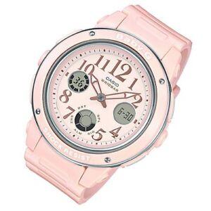 Casio-Baby-G-Womens-Wrist-Watch-BGA150EF-4B-BGA-150EF-4B-Pink-Analog-Digital