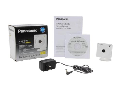 Panasonic BL-VP104WP Home Security HD 1280 x 720 H.264 Wireless Net Cam
