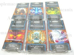 NEW-Android-Netrunner-Mumbad-Cycle-6-Data-Packs-Card-Game-LCG-Blank-Flag9