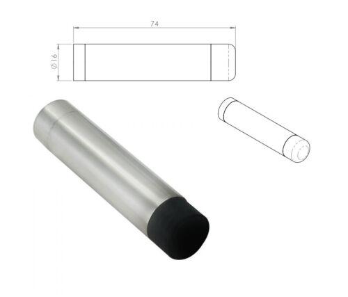 Eurospec WALL MOUNTED DOOR STOP Bright Stainless Steel // Satin Stainless Steel
