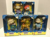 Rugrats Figures By Mattel 1997 - Lot Of 5 Tommy, Spike, Chuckie, Angelica, Phil