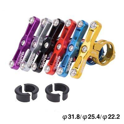 Adjustable Bicycle Water Bottle Cage Holder Clamp Clip Bike Handlebar Bracket
