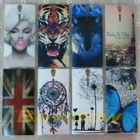 1x Eiffel Tower Wolf Cat back hard Case cover for Sony Xperia S Lt26i SL Lt26ii