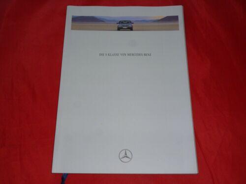MERCEDES W140 S-Klasse S 350 Turbodiesel S 600 Prospekt Brochure von 1993