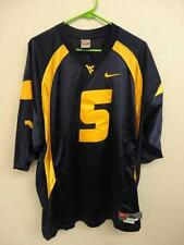 West Virginia Blue Authentic Nike #5 Football Jersey Size 48 XL +2 length