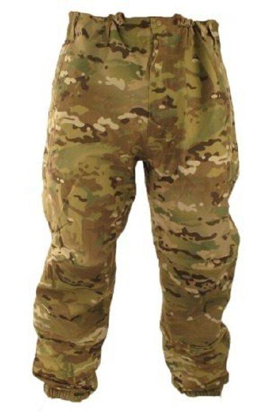 US Army OCP Multicam Level Wet VI Goretex Gen III Wet Level Cold Weather Hose Large Reg 710fe5