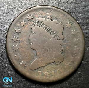 1810 Classic Head Large Cent --  MAKE US AN OFFER!  #K3552