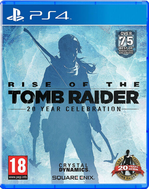 PS4 Rise of the Tomb Raider 20 Year Celebration UNCUT NEU&OVP Playstation 4