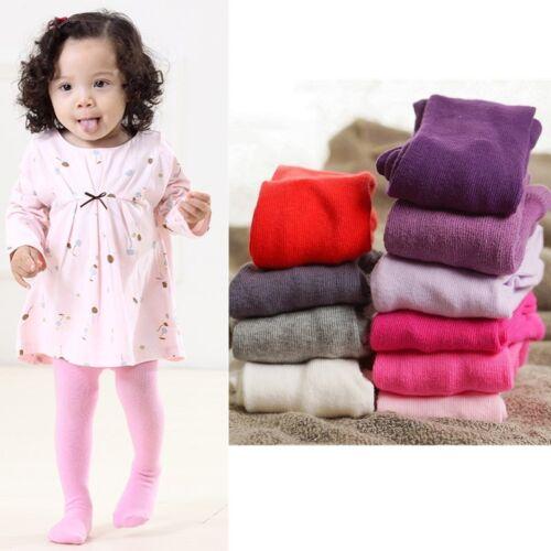 Newborn Baby Girls Toddler Kids Tights Stockings Pantyhose Pants 0-24 Month Size