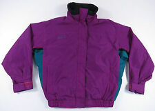 VTG COLUMBIA BUGABOO RADIAL SLEEVE PURPLE FULL ZIP WOMENS JACKET OUTDOORS SKI M