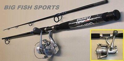 ABU GARCIA 8' CARDINAL BRUISER Fishing Combo Spinning Rod and Reel NEW #BRSB82/5