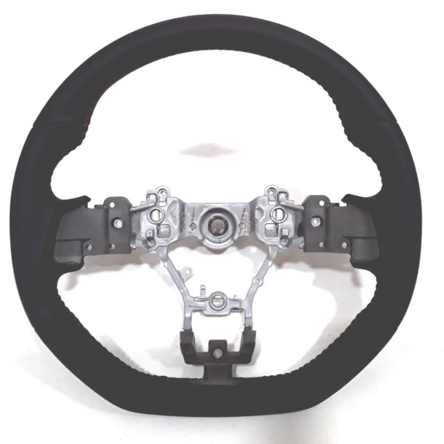 OEM Subaru STI Type RA Suede Steering Wheel 2015+ WRX / STI 34312VA130